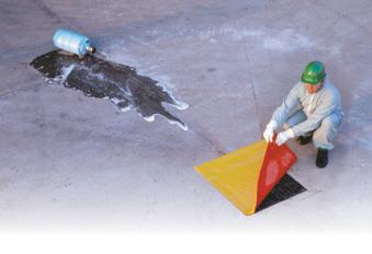 Plaque d'obturation contre les fuites chimiques